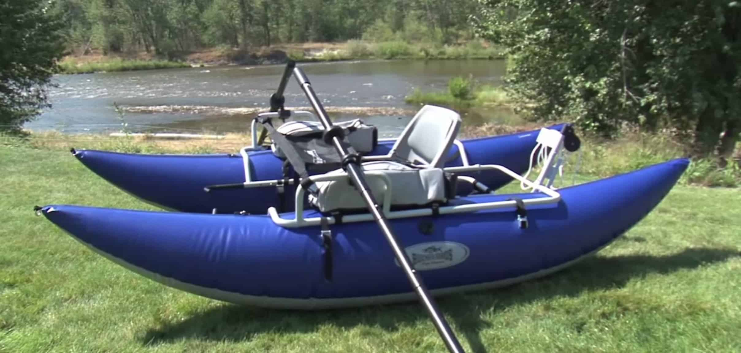 15 best pontoon boats for every purpose pontooners for Inflatable fishing pontoon
