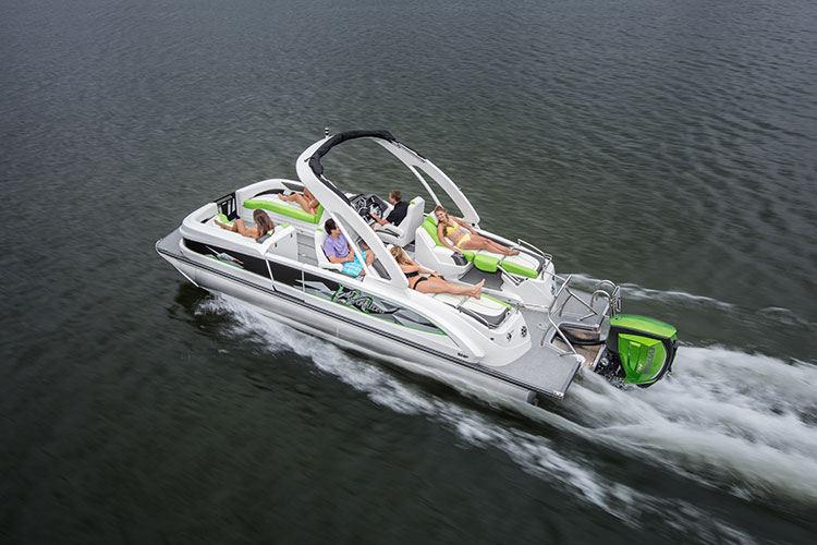 best luxury pontoon boats