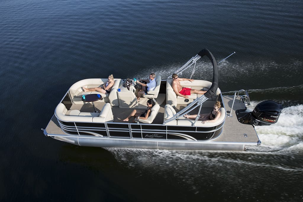 top rated pontoon boat