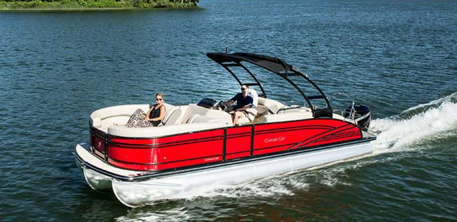 LUXURY PONTOON BOAT