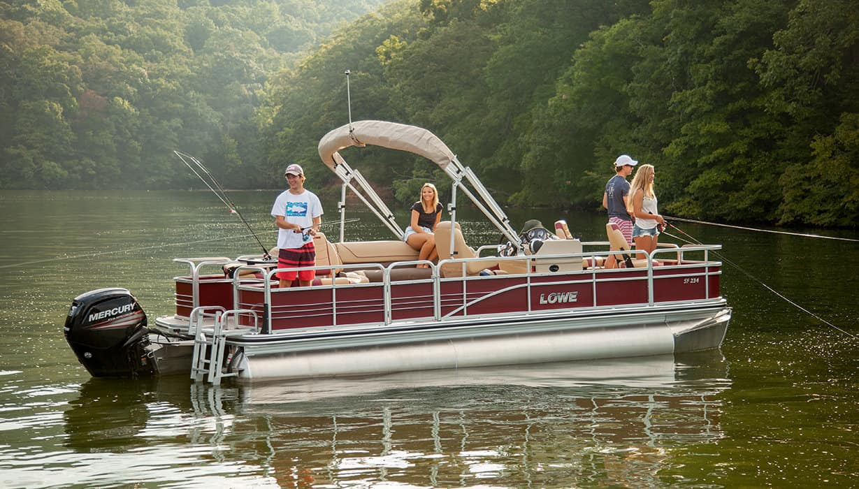 Lowe Pontoon Boat Reviews