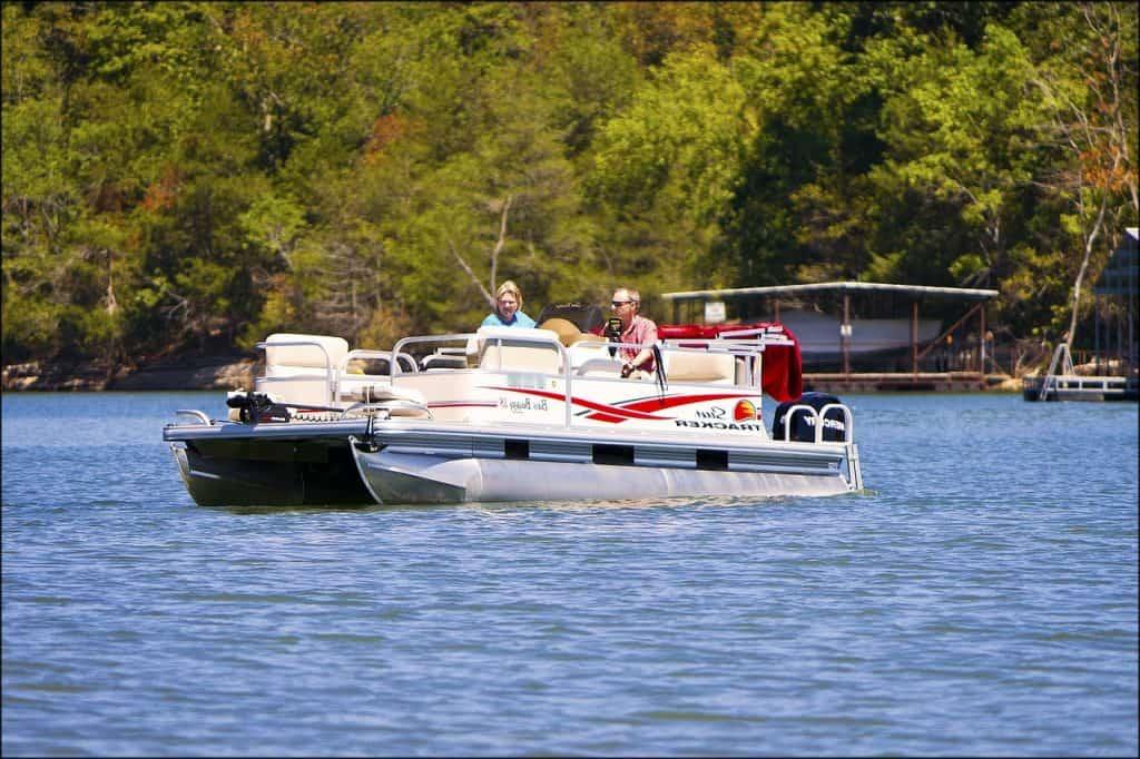 pontoon boat weight