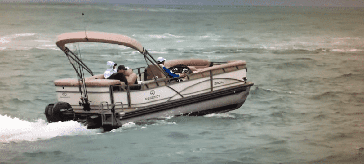 are pontoon boats safe in the ocean