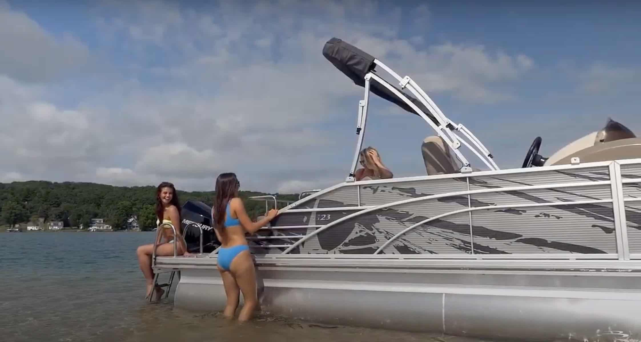 HOW SHALLOW CAN YOU GO WITH A PONTOON BOAT