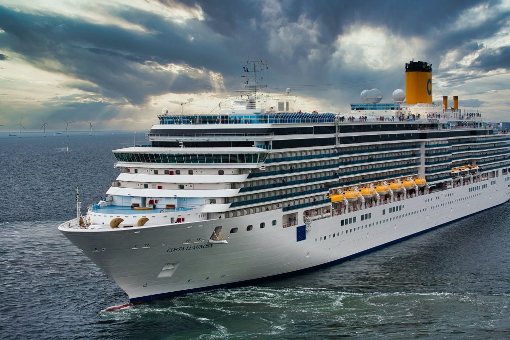 how to contact someone on a cruise ship in an emergency
