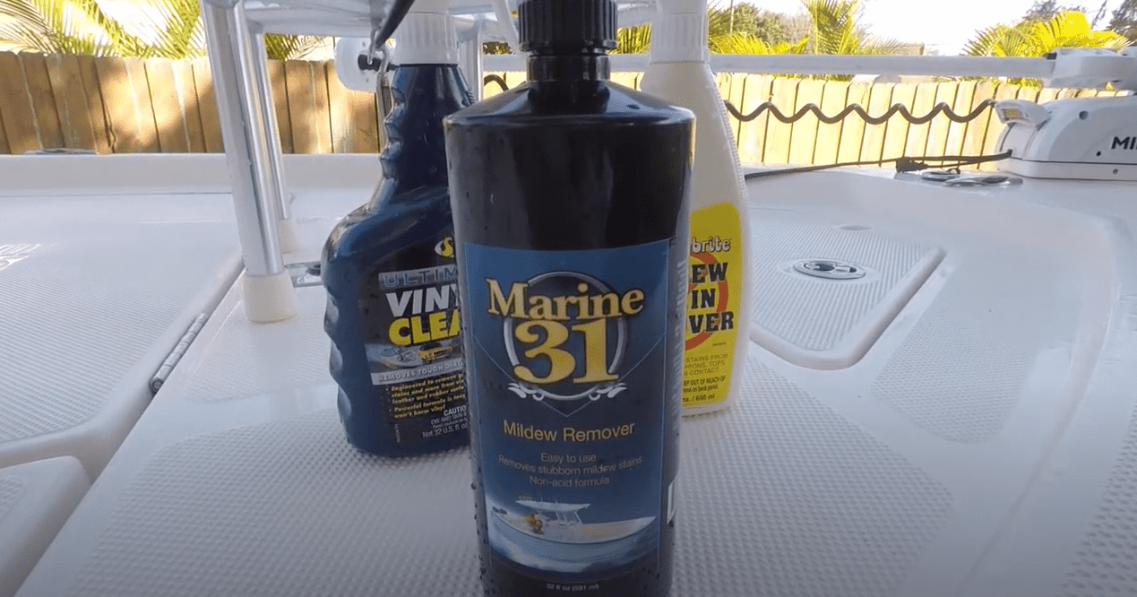 best mildew remover for boat seats