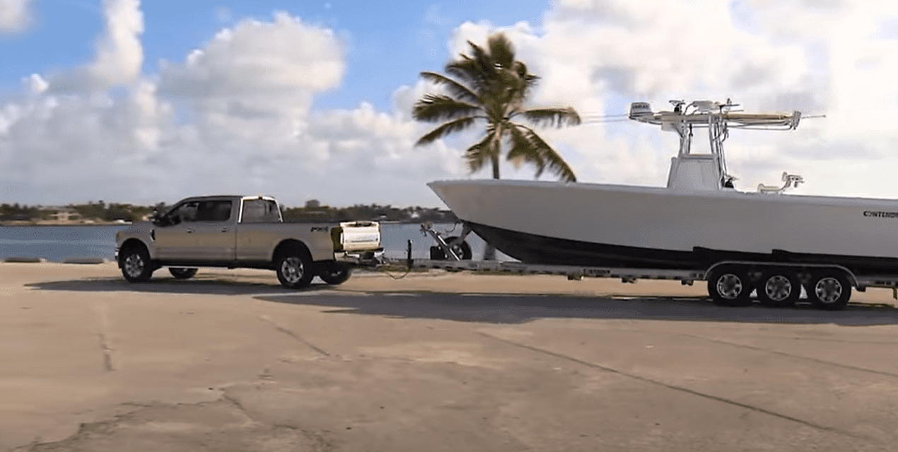 boat trailers with too little tongue weight tend to do what