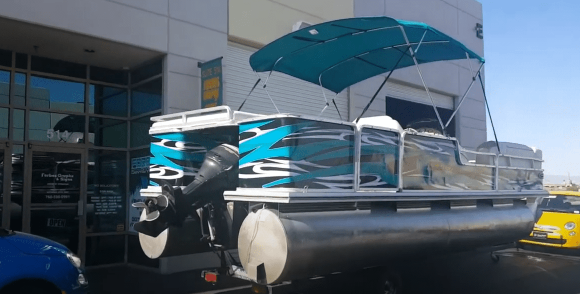 how much does it cost to wrap a pontoon boat
