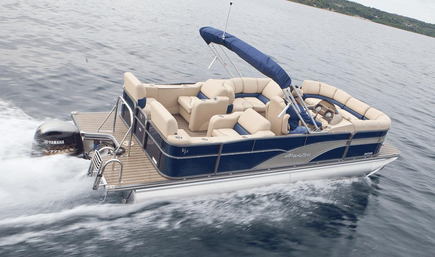 pontoon boat draft
