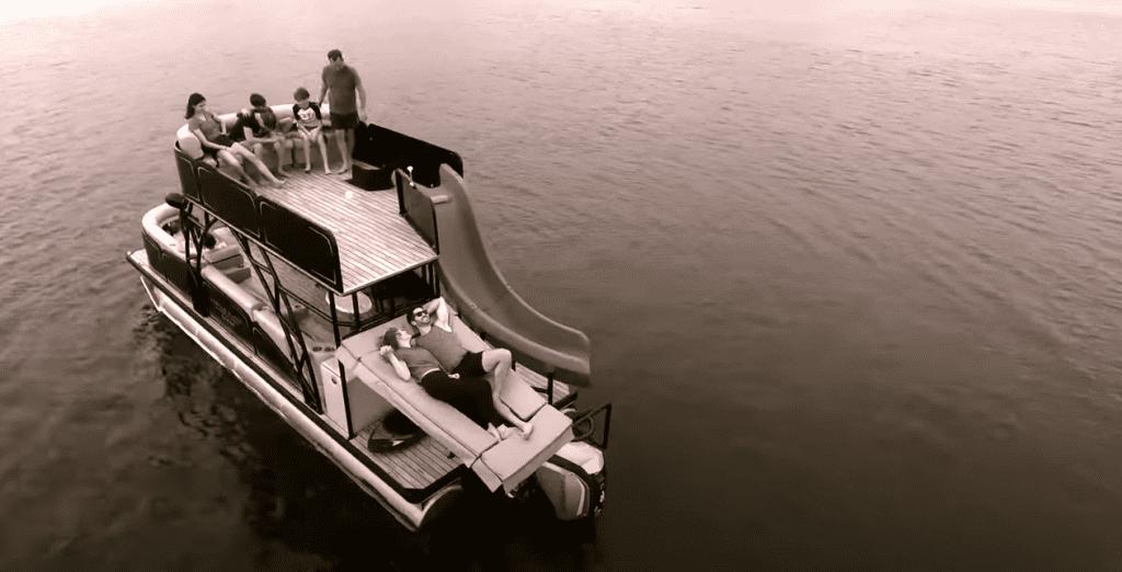 family pontoon boats