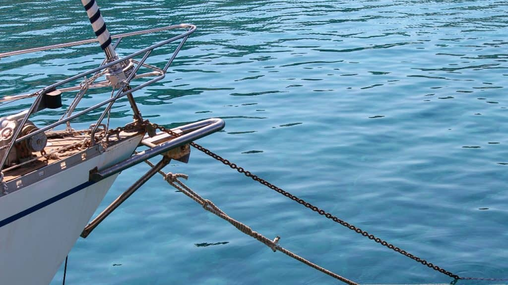 where should you avoid anchoring